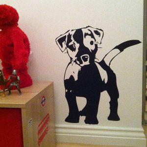 Love My Dog Wall Sticker