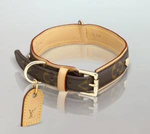 Louis Vuitton Baxter Dog Collar