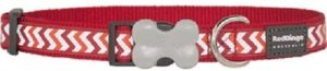 Red Dingo ziggy small dog collar