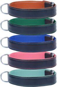 Ace Dog Collars Comfy Leather Dog Collar