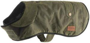 Ancol Heritage Green Wax Coat