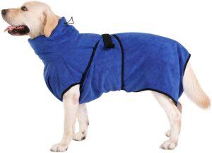 Kaka mall Microfiber Quick Drying Dog Coat